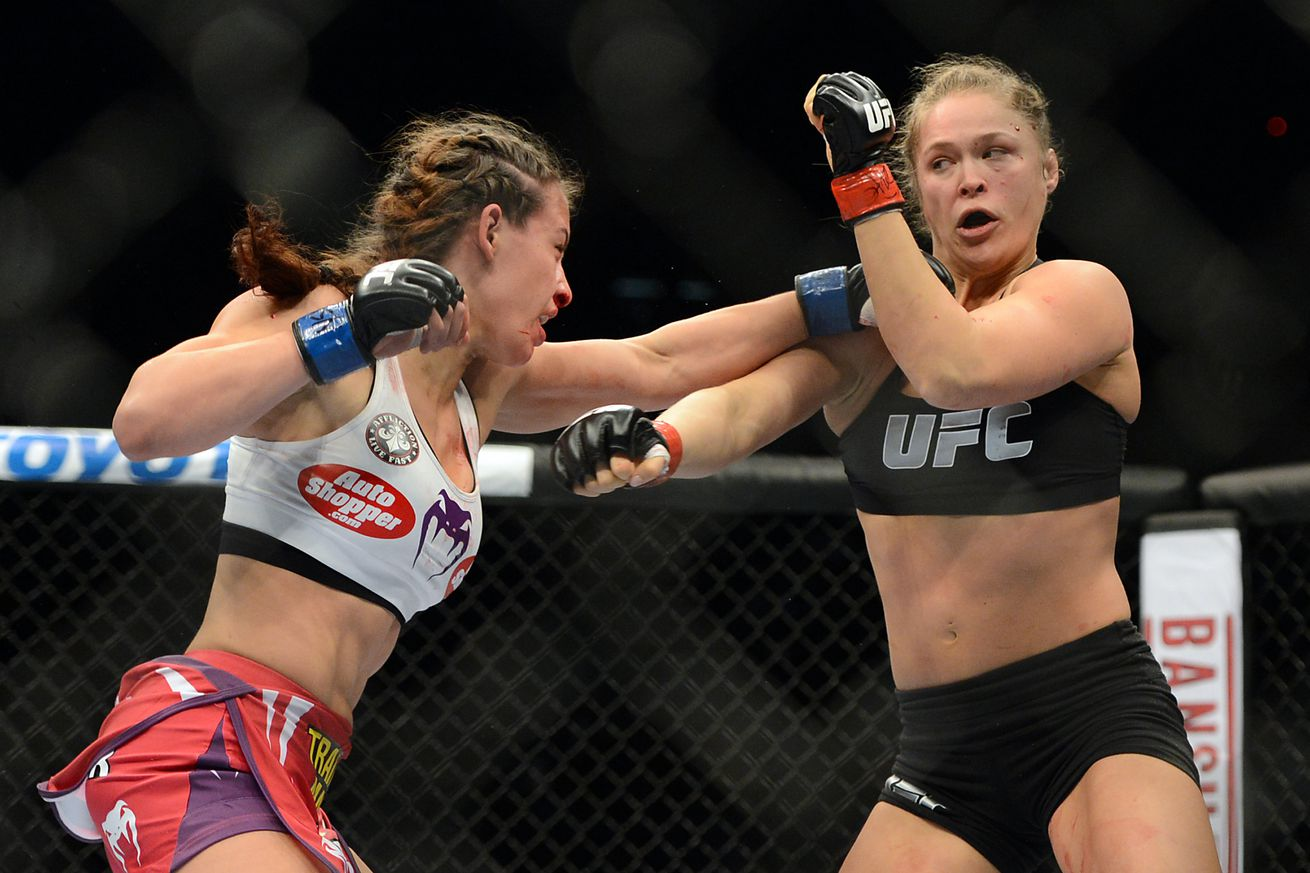 community news, Chink in the Rowdy armor: Miesha Tate is better now, Ronda Rousey is beatable