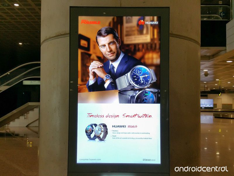 ANDROID CENTRAL Huawei watch