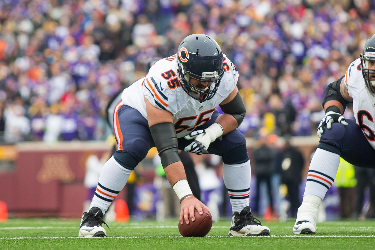 Bears C Grasu injures knee in practice