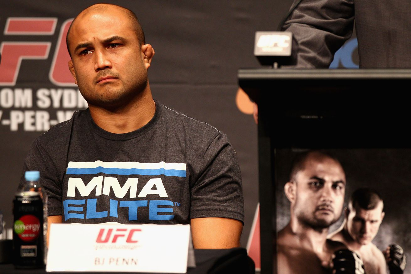 community news, Pic: Super salty BJ Penn takes cheap shots at Georges St Pierre and Conor McGregor