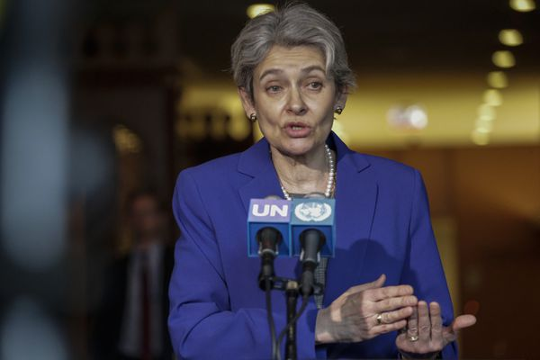 UNSG candidate Irina Bokova, the current director ofUNESCO and former acting foreign minister of Bulgaria.