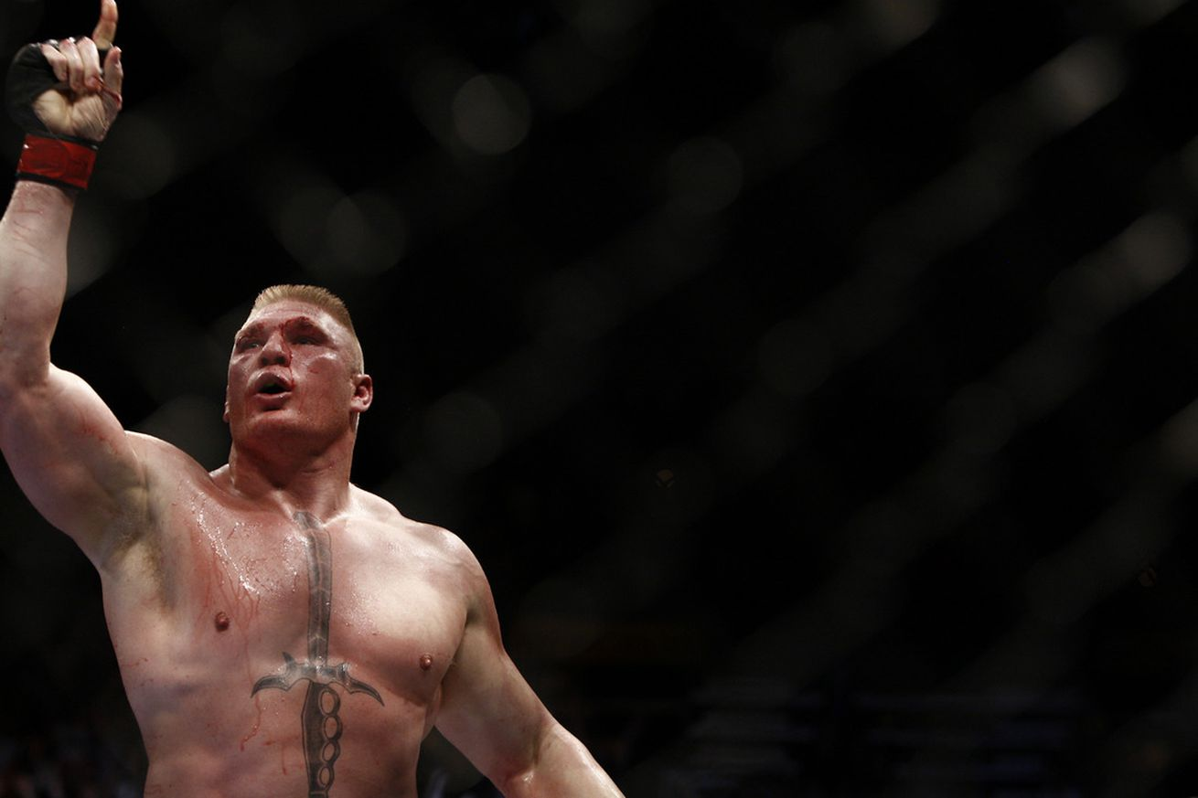 Brock Lesnar explains the 'simple' reason why he's representing Canada at UFC 200