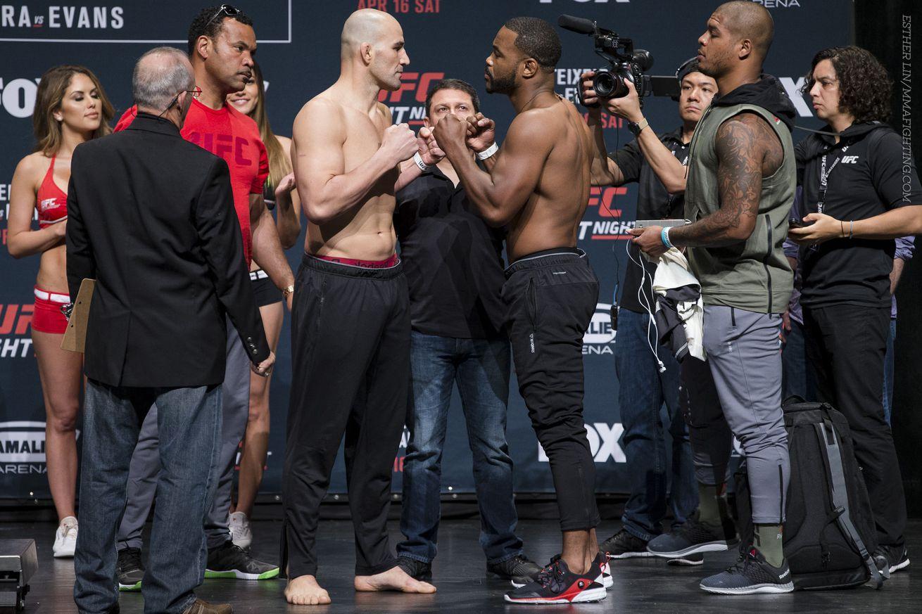 UFC on FOX 19 start time, TV schedule for Glover Teixeira vs. Rashad Evans