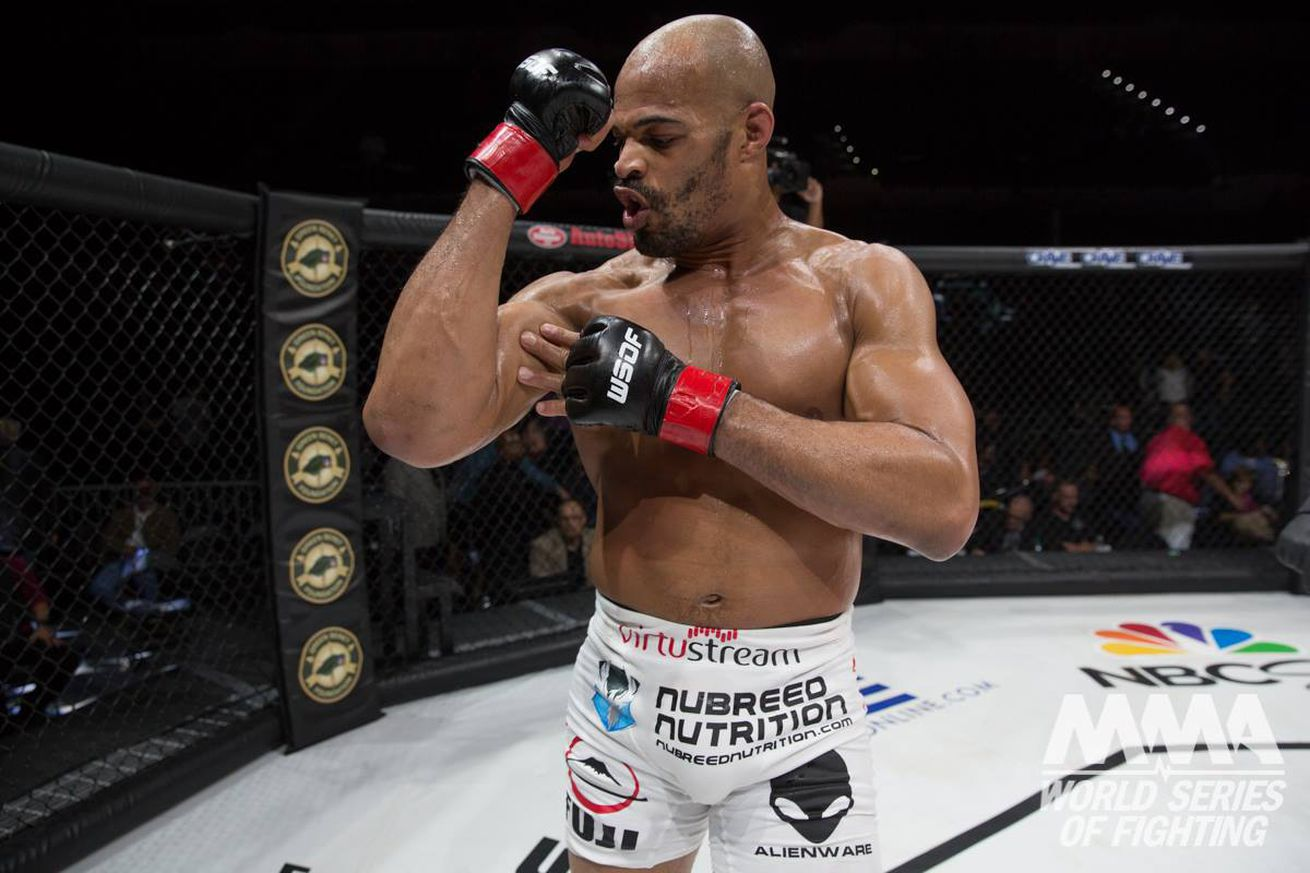 The next step for David Branch after winning two WSOF titles? Defending them