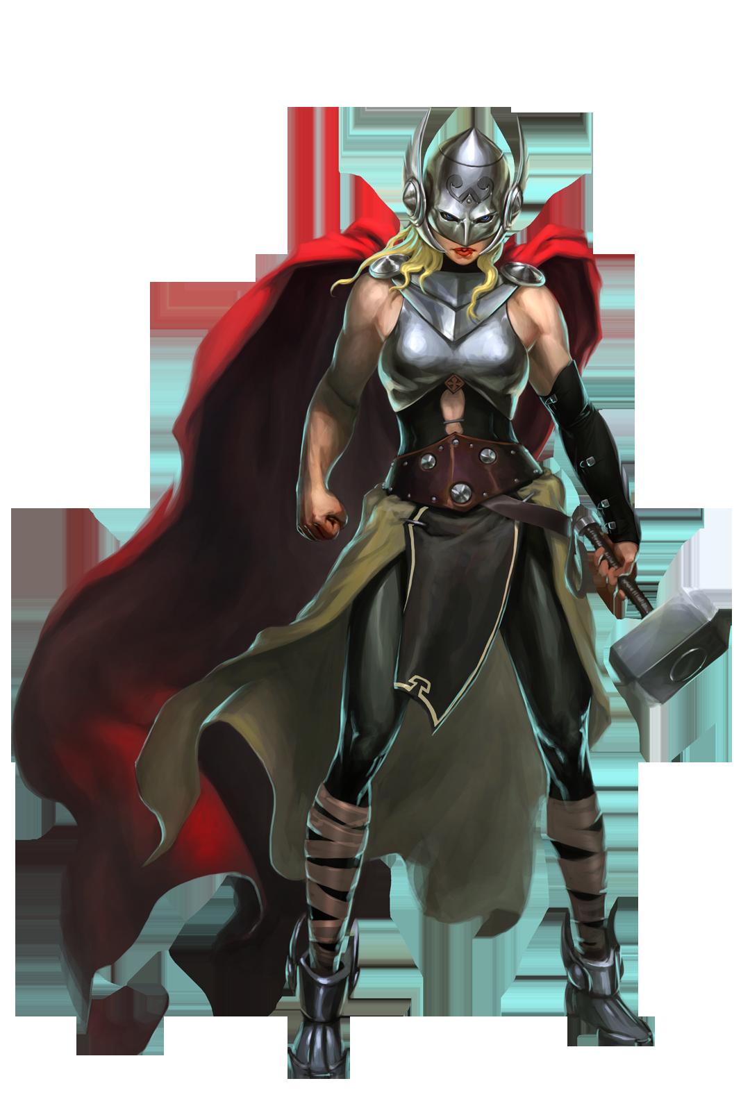 Thor: Goddess of Thunder, 300px alpha