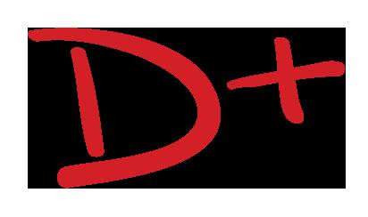 Image result for D+ grade