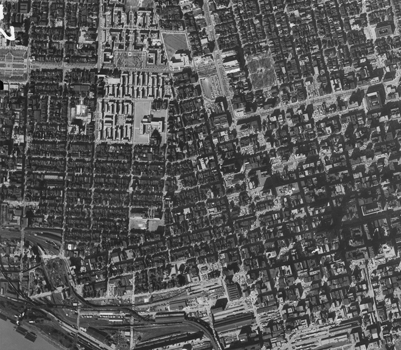 Before-and-after maps show how freeways transformed