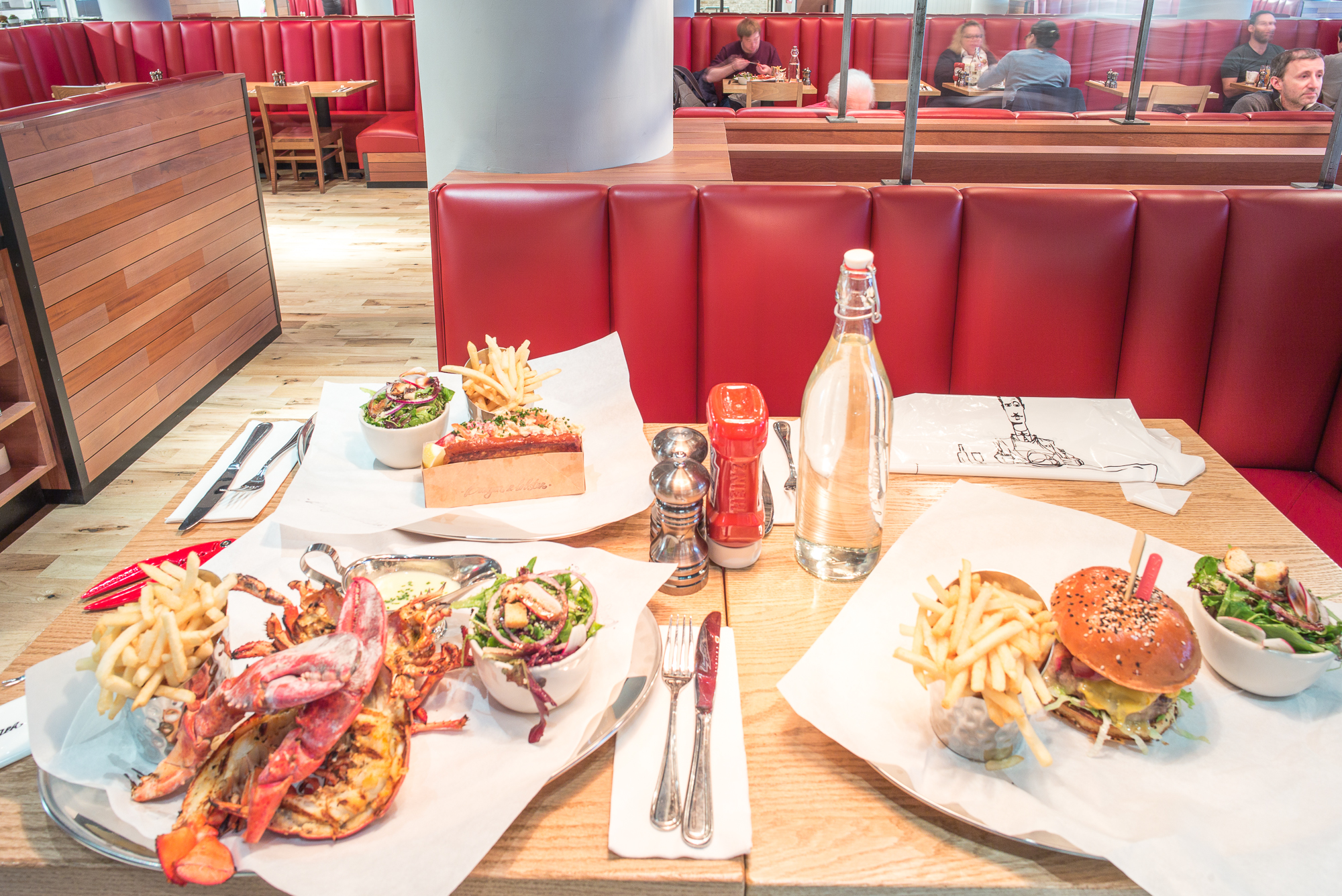 Which 20 Entree Gives You The Most Bang For Your Buck At Burger Lobster Eater Ny