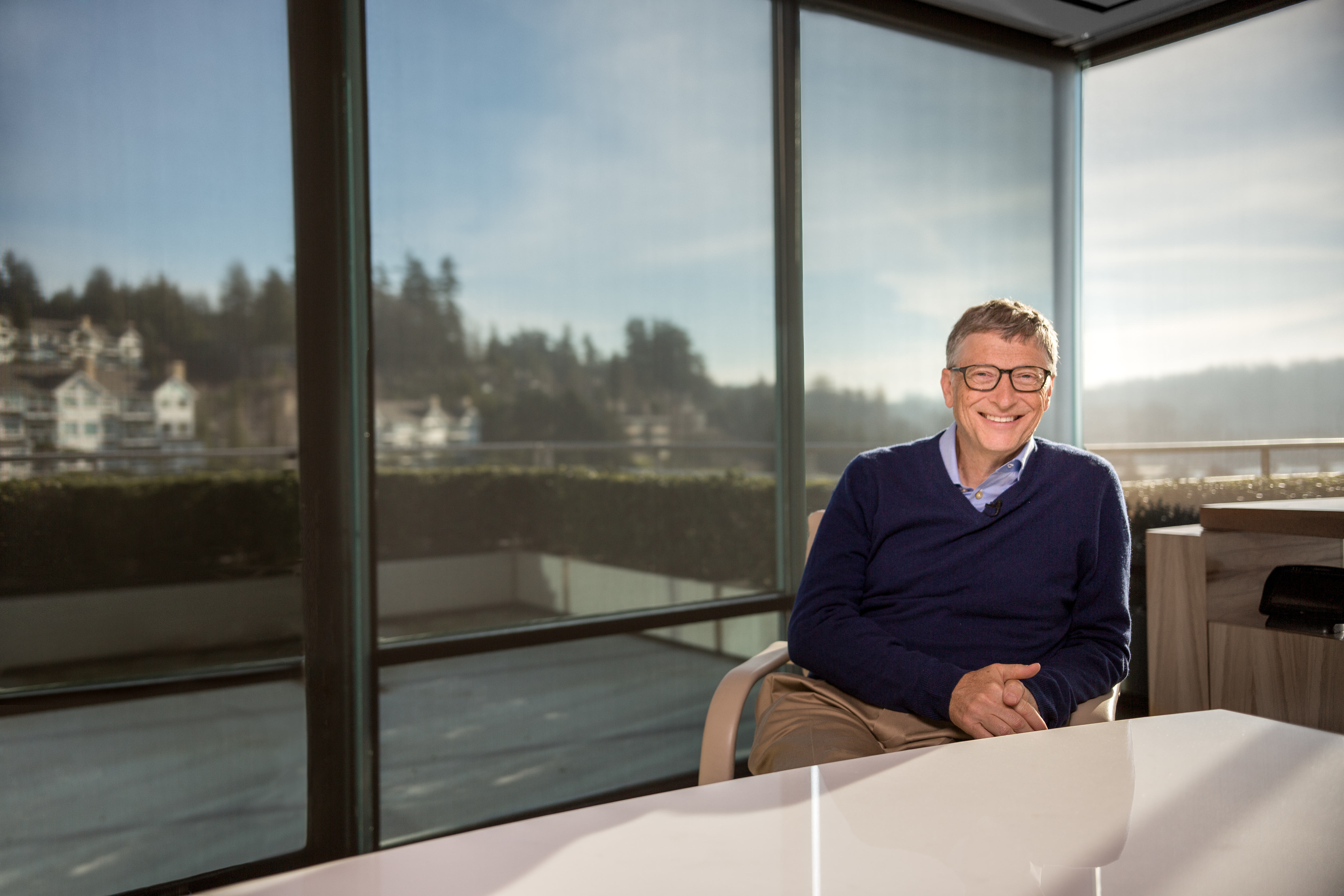 bill gates interior house. Bill Gates And The Verge  How Technology Will Change The World By 2030