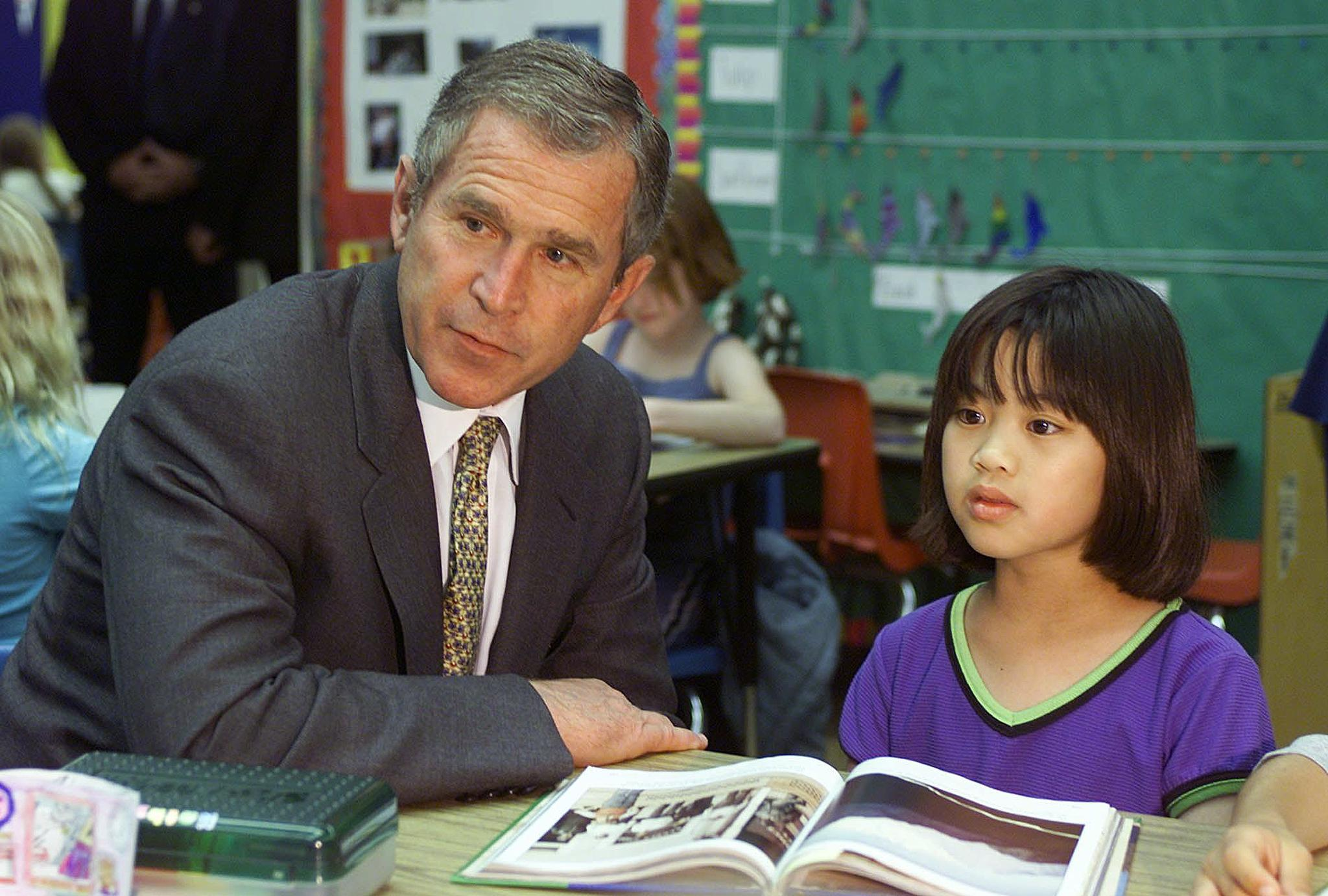What is your take on the no child left behind movement going on under GWB?
