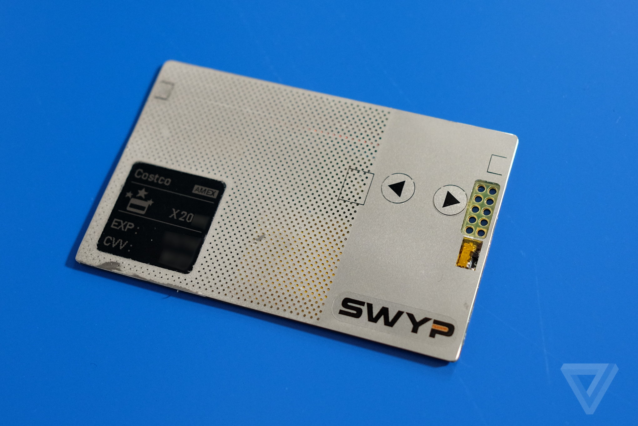 this is swyp  the latest card that wants to store all your other credit cards