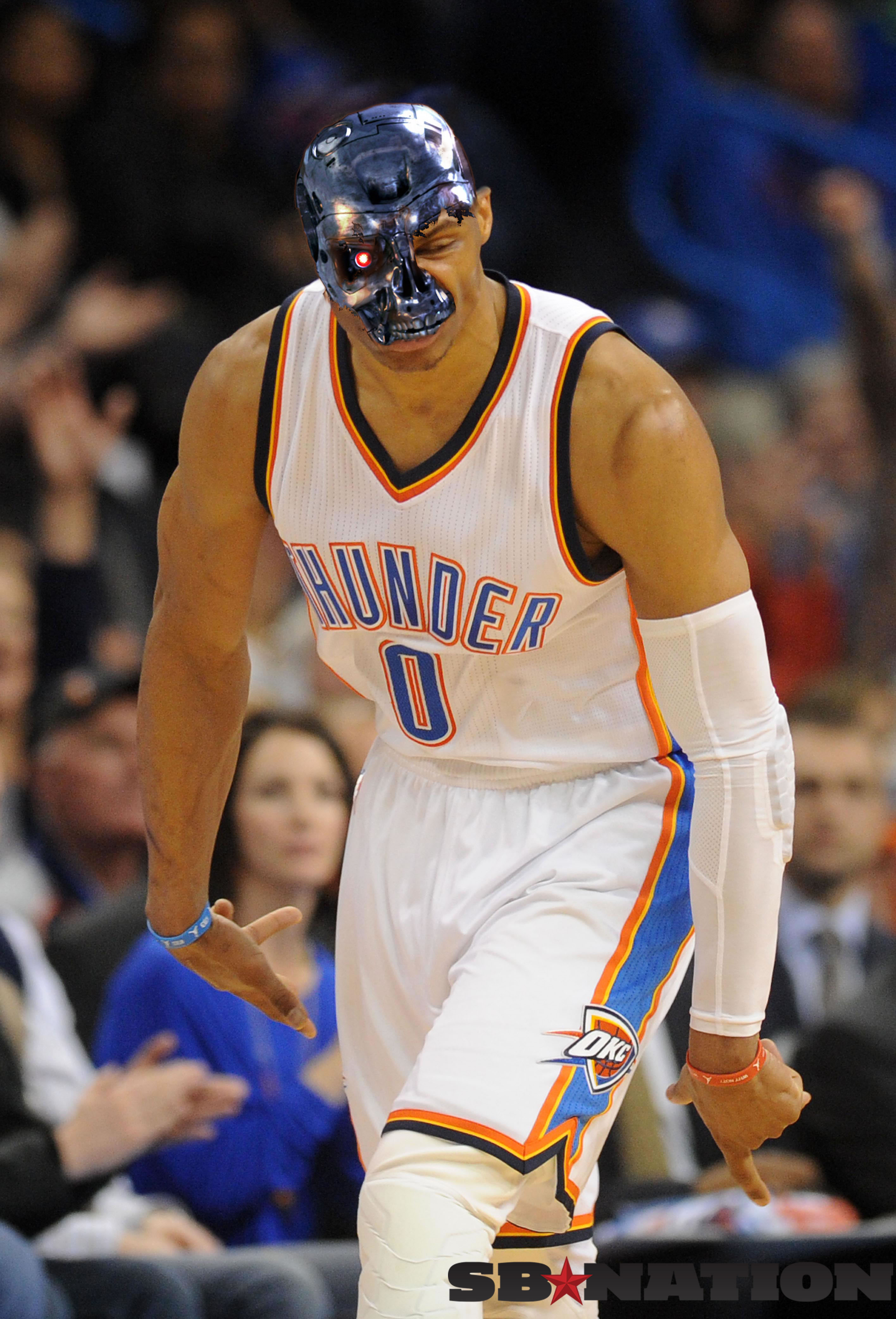 The Rise Of Russell Westbrook Nba Terminator Sbnation Com