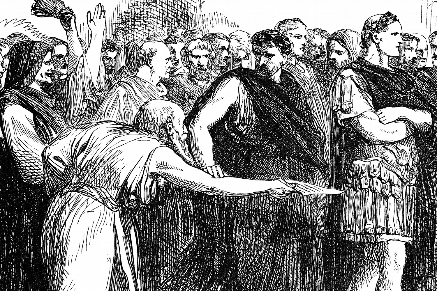 warning juilus caesar of the ides Caesar had previously been warned by a seer that he would come to harm no later than the ides of march, a warning  julius caesar in the play, the warning.