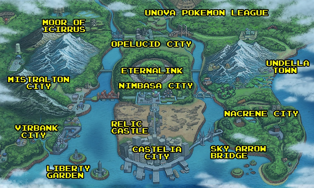 How pokemons world was shaped by real world locations polygon the greater world gumiabroncs Images