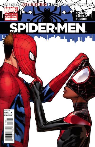 Miles Morales Peter Parker