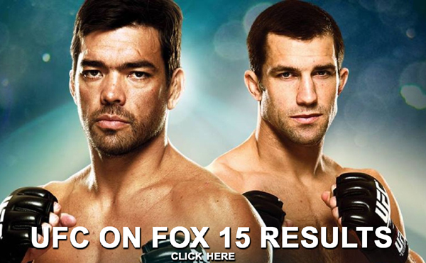 UFC on FOX 15 Results