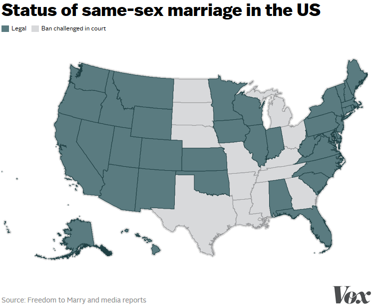 is gay marriage legal in every state in the us