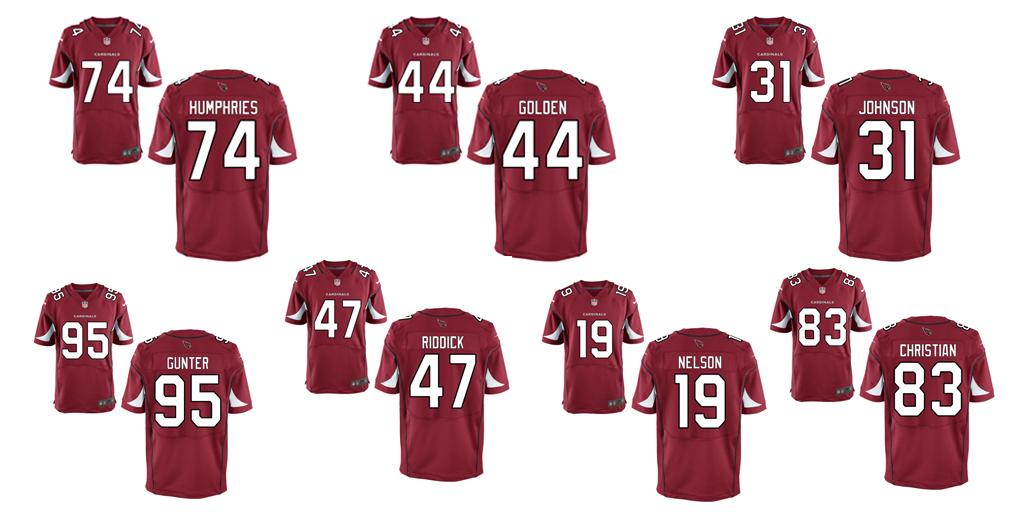 Jerseys NFL Sale - Arizona Cardinals draft picks have their uniform numbers - Revenge ...