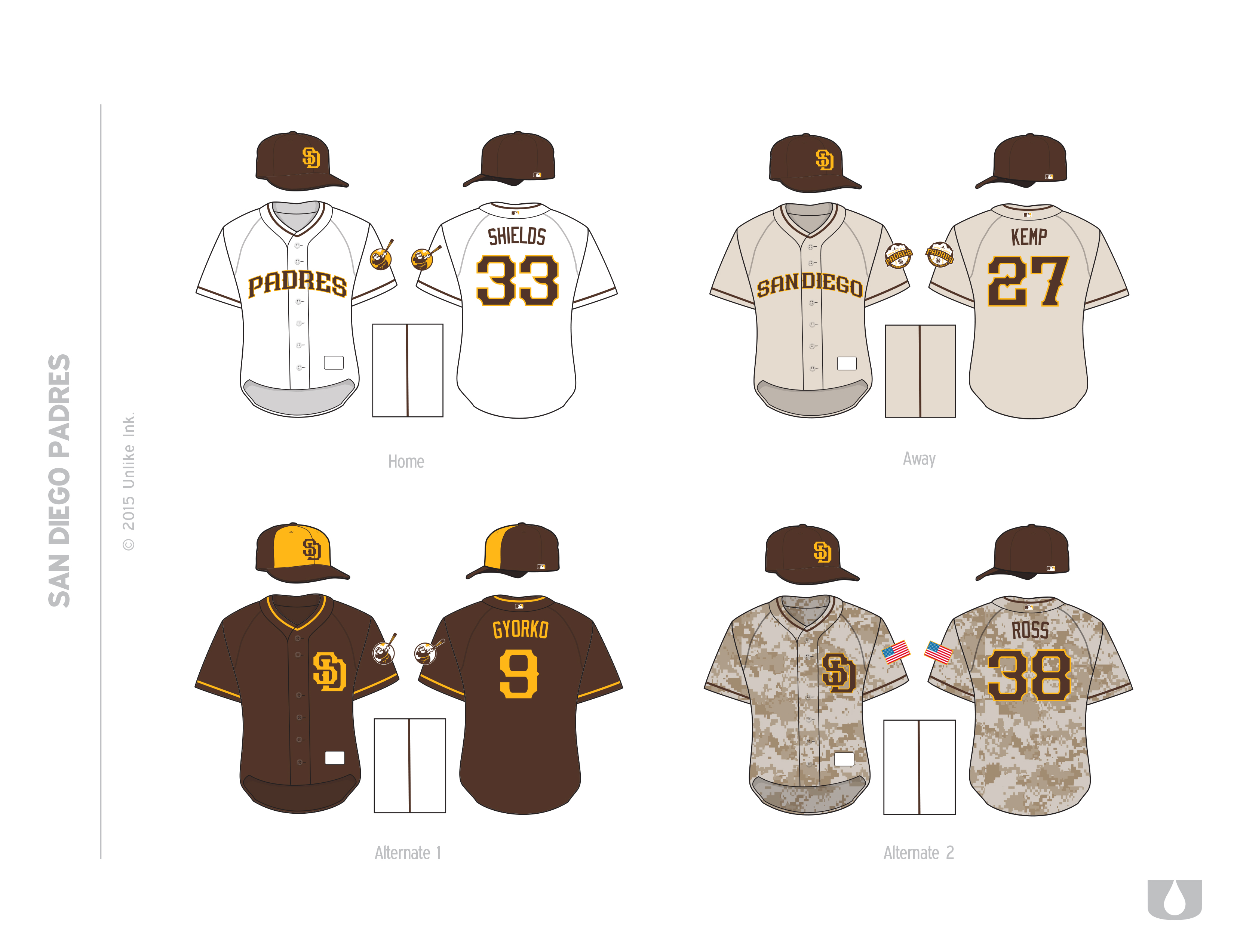 the latest e3607 b298b TFHS Special: Redesigning the Padres - Gaslamp Ball
