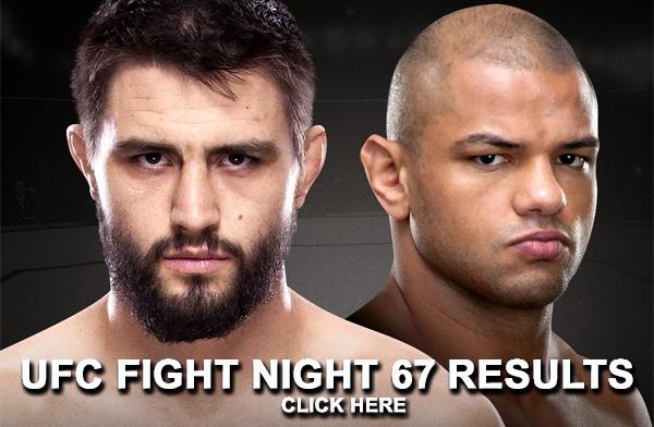 UFC Fight Night 67 Results