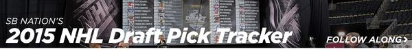 SB Nation's 2015 NHL Draft Tracker