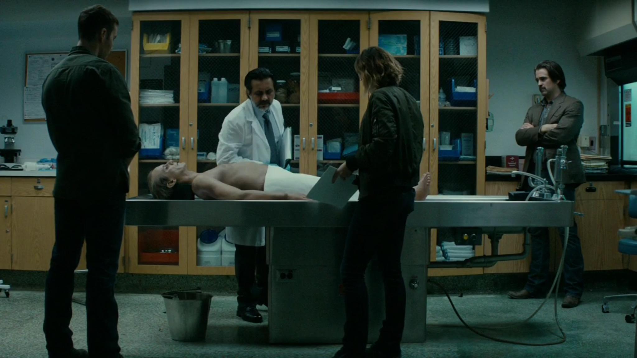 The coroner's office