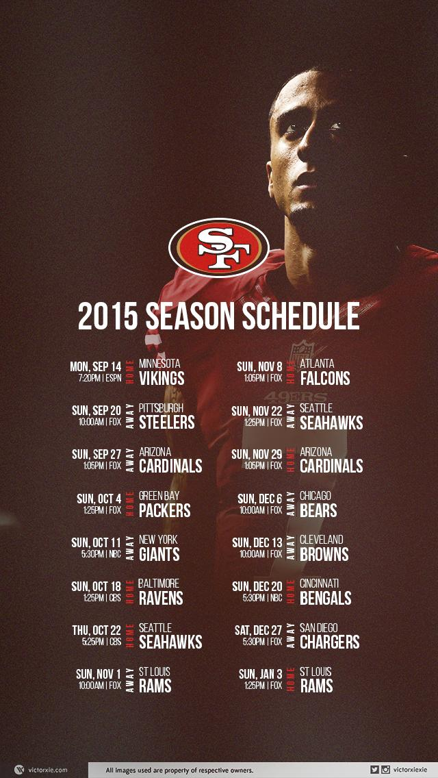 49ers schedule mobile wallpaper niners nation voltagebd Images