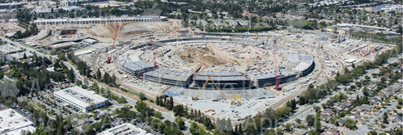 apple cupertino office p