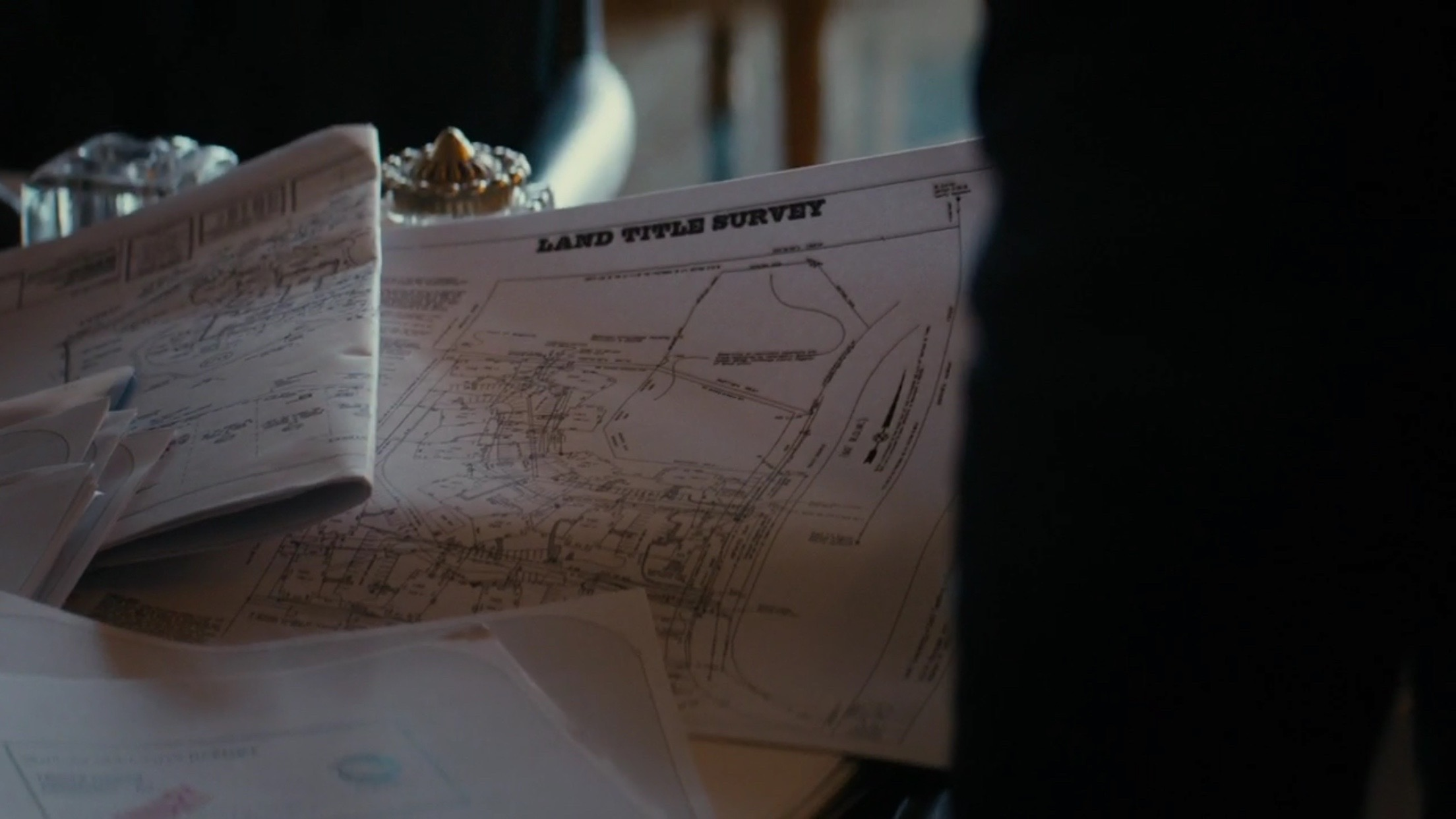 The land title survey Ani discovered in Chessani's house