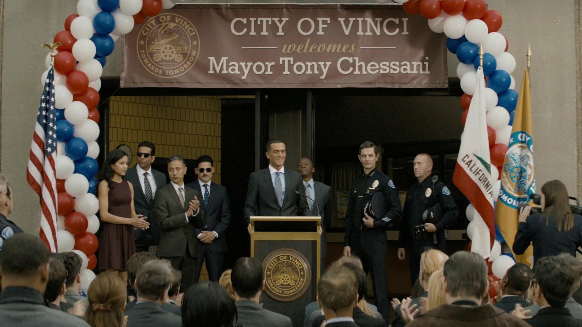Mayor Tony Chessani