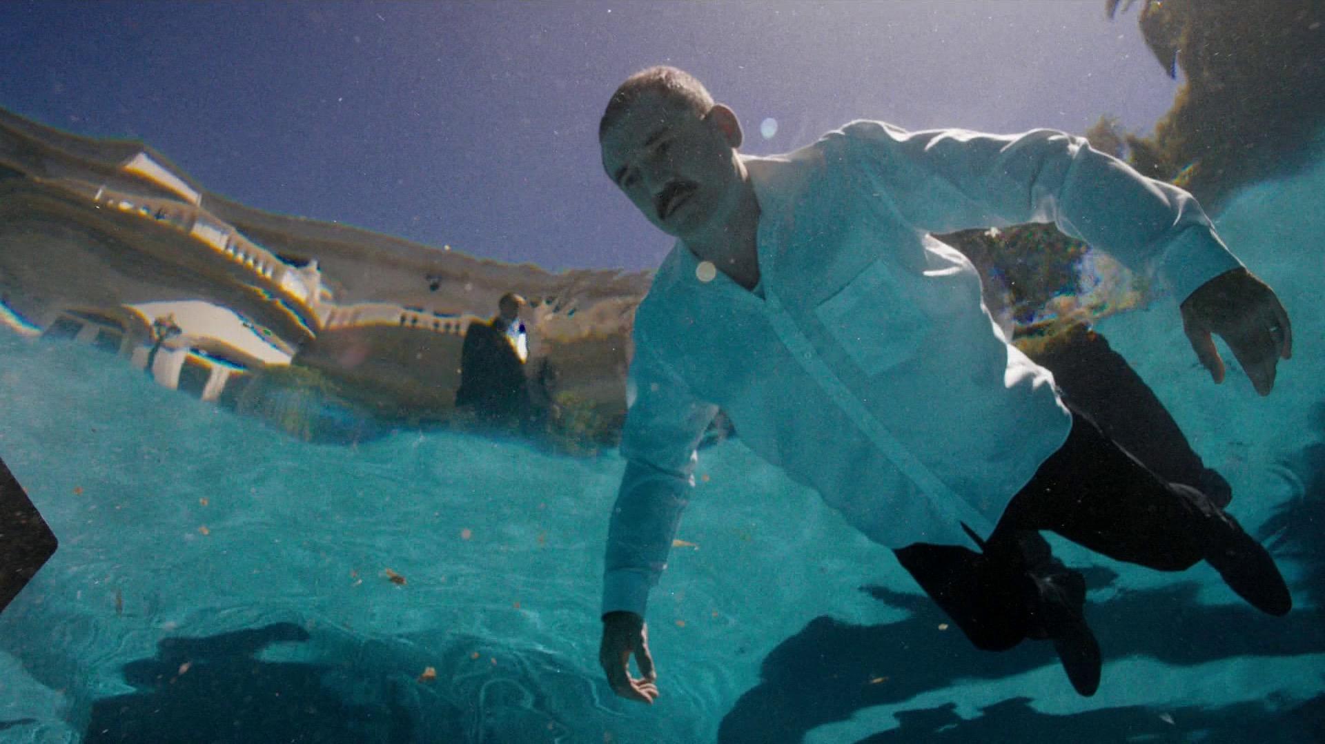 Austin Chessani, floating dead