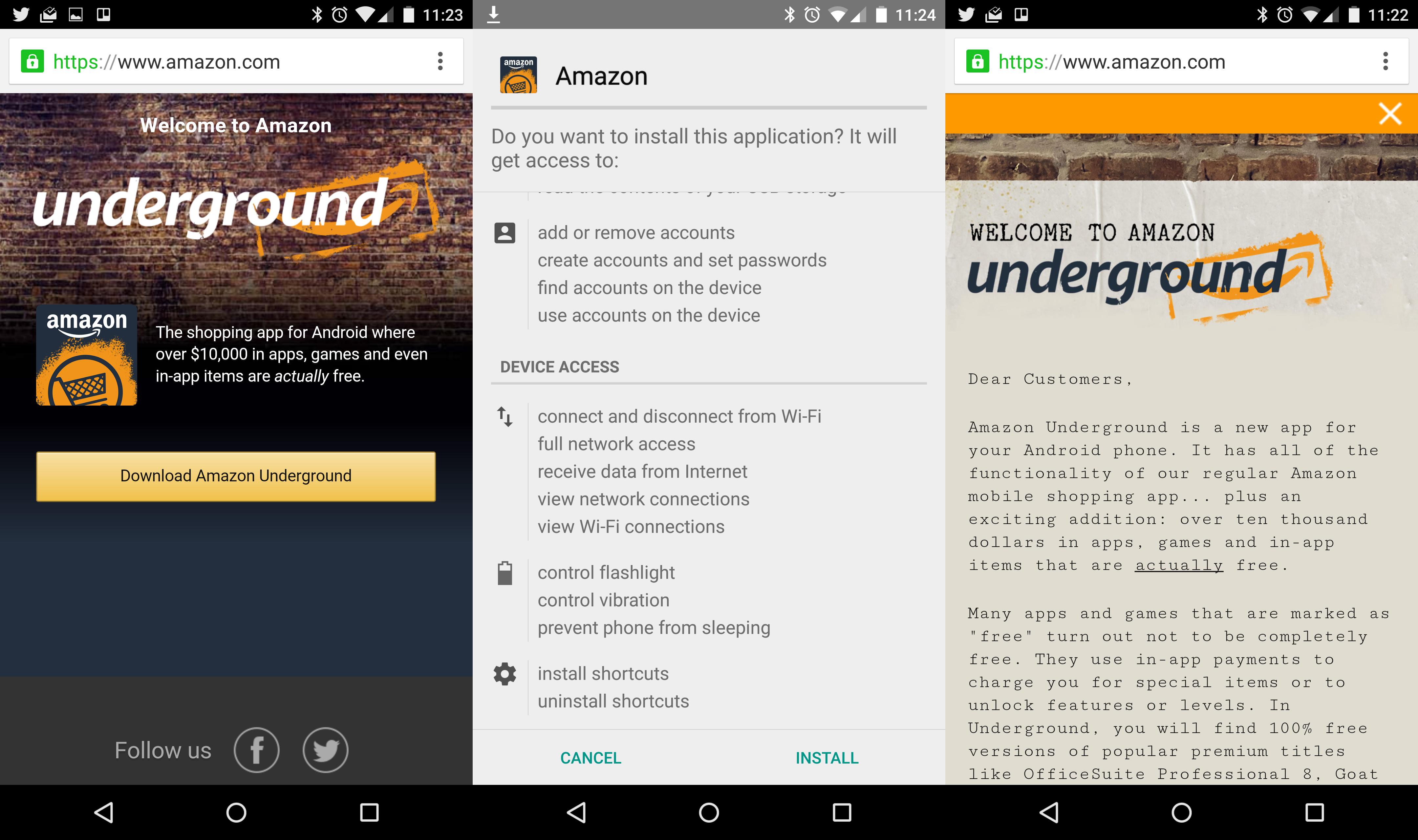 Amazoncom apps games - Amazon Underground