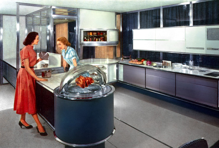 Why The Kitchen Of The Future Always Fails Us Eater - Retro-kitchen-design-you-never-seen-before