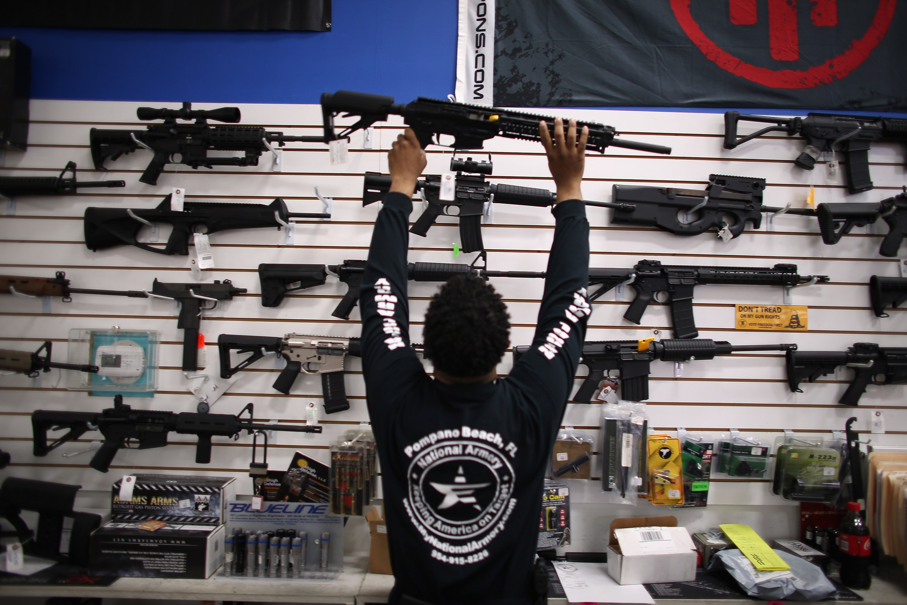 Should Homicide Victims Families be allowed to sue the gun manufactures?