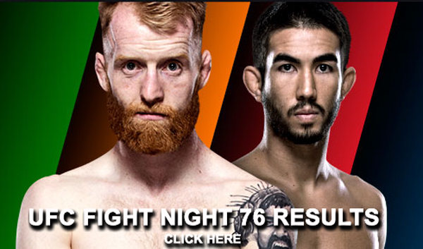 UFC Fight Night 76 Results