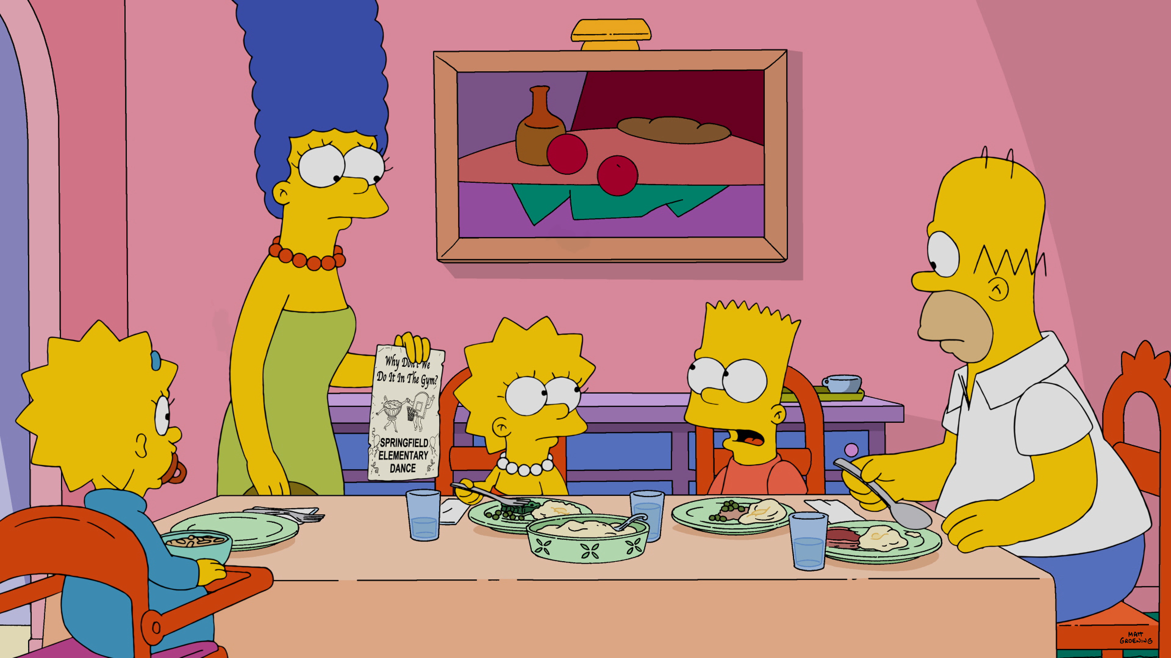 2700 #C6A305 How An Episode Of The Simpsons Is Made The Verge pic Simpson Doors Online 43714800