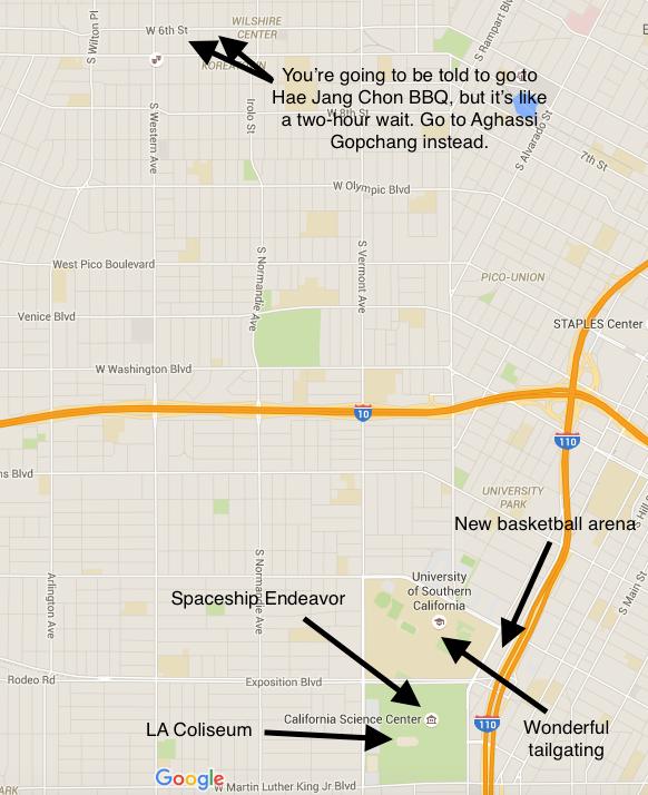 USC Map