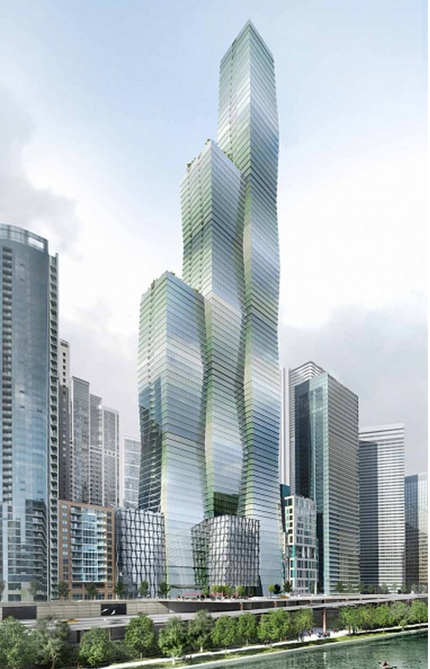 The New Class Of Skyscrapers That Will Forever Change The Chicago Skyline Curbed Chicago
