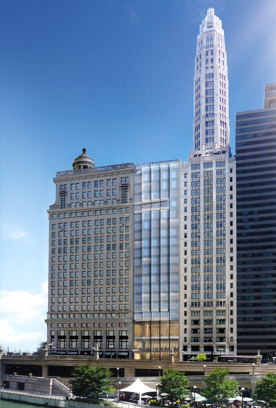 Inside the upcoming londonhouse hotel in the historic for Hotell chicago
