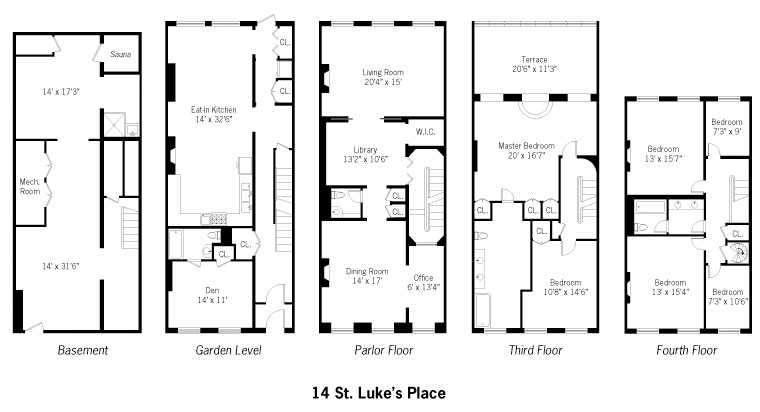 Robert de niro 39 s old house back on market with new plans for 12 grimmauld place floor plan