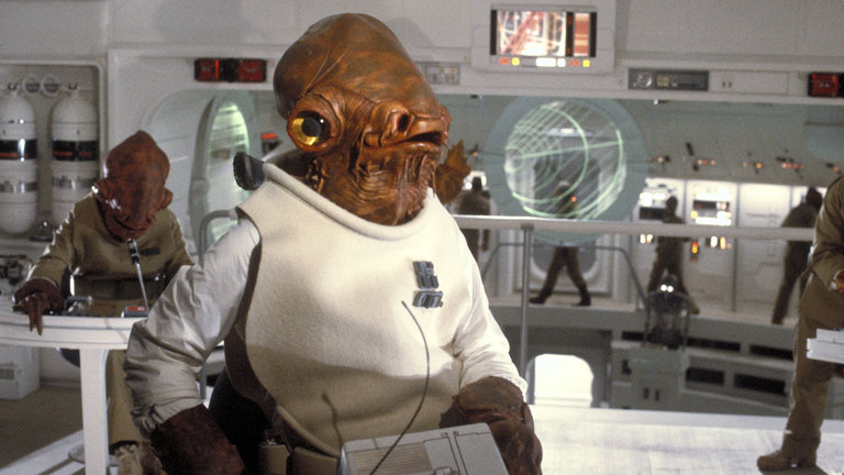 Admiral Ackbar from Return of the Jedi