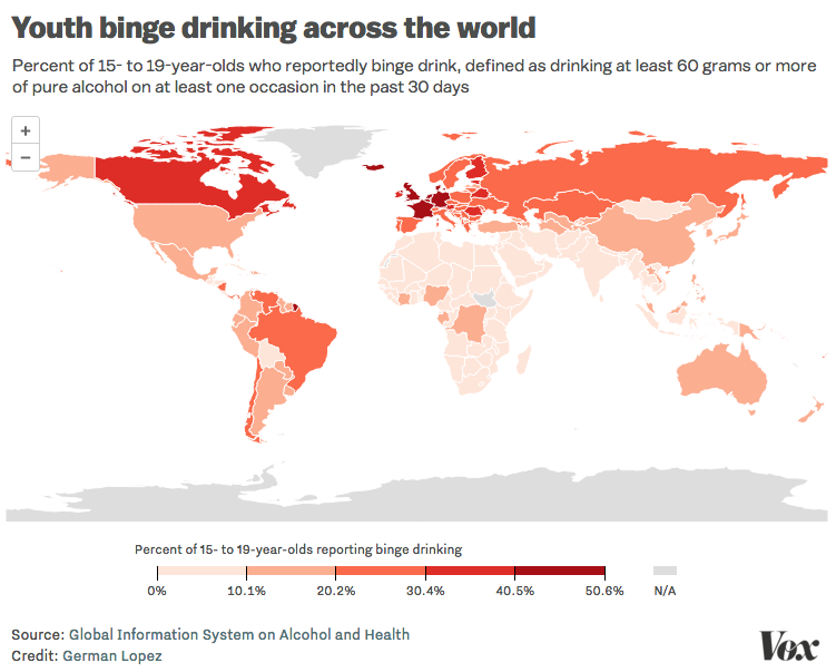 Problems - Ages Worse Has Drinking Vox — Us The Europe And Lower Than Teen