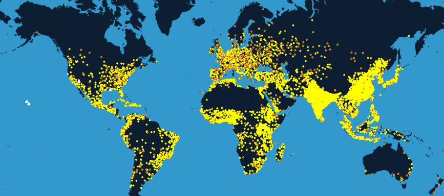 How The World Went From 170 Million People To 7 3 Billion In One Map Vox