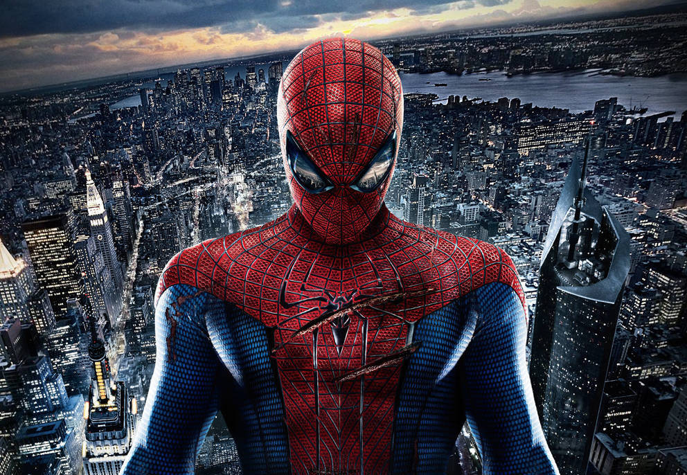 spider mans new suit is beautiful fan service