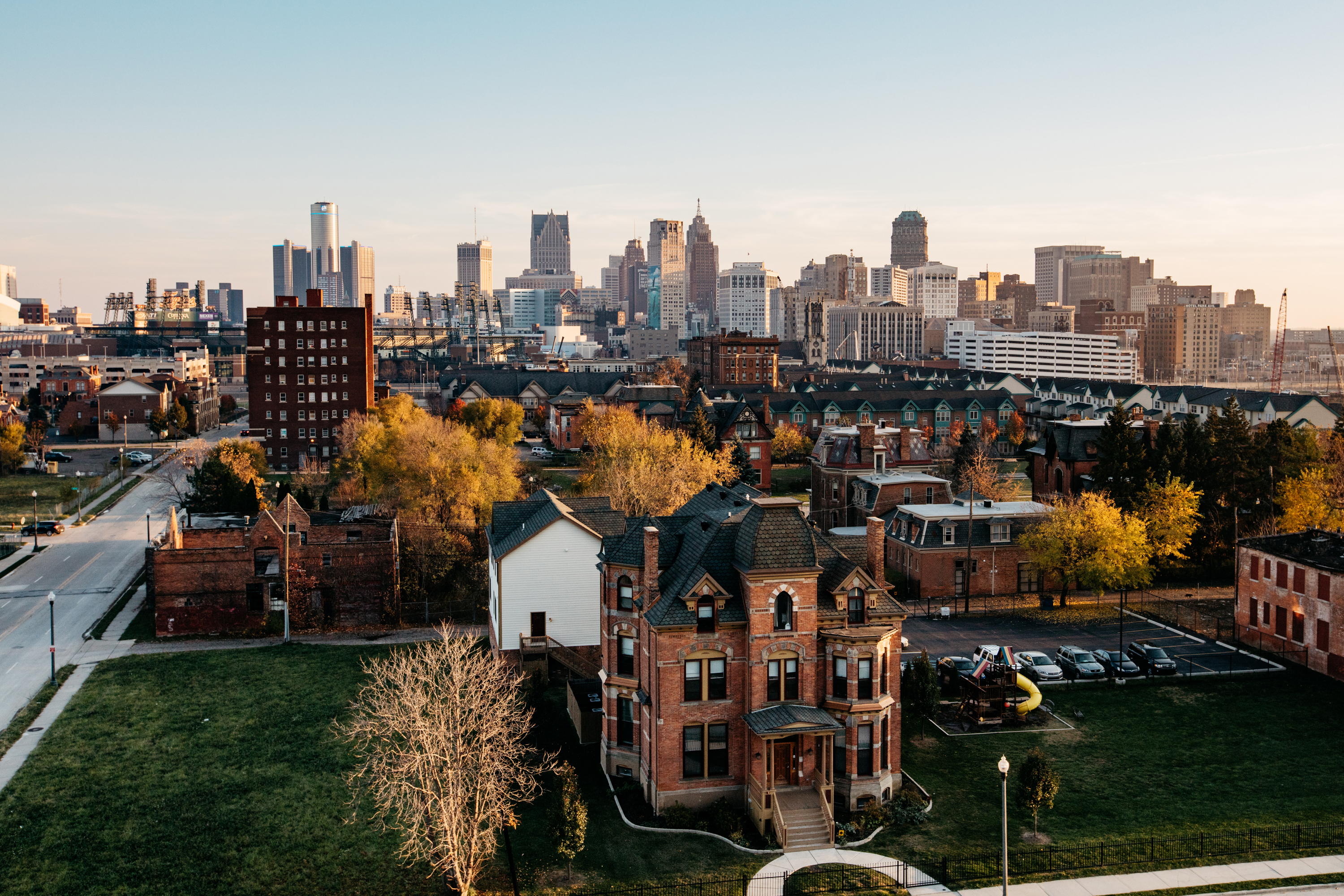Detroit S Billionaires Hope To Change Downtown With