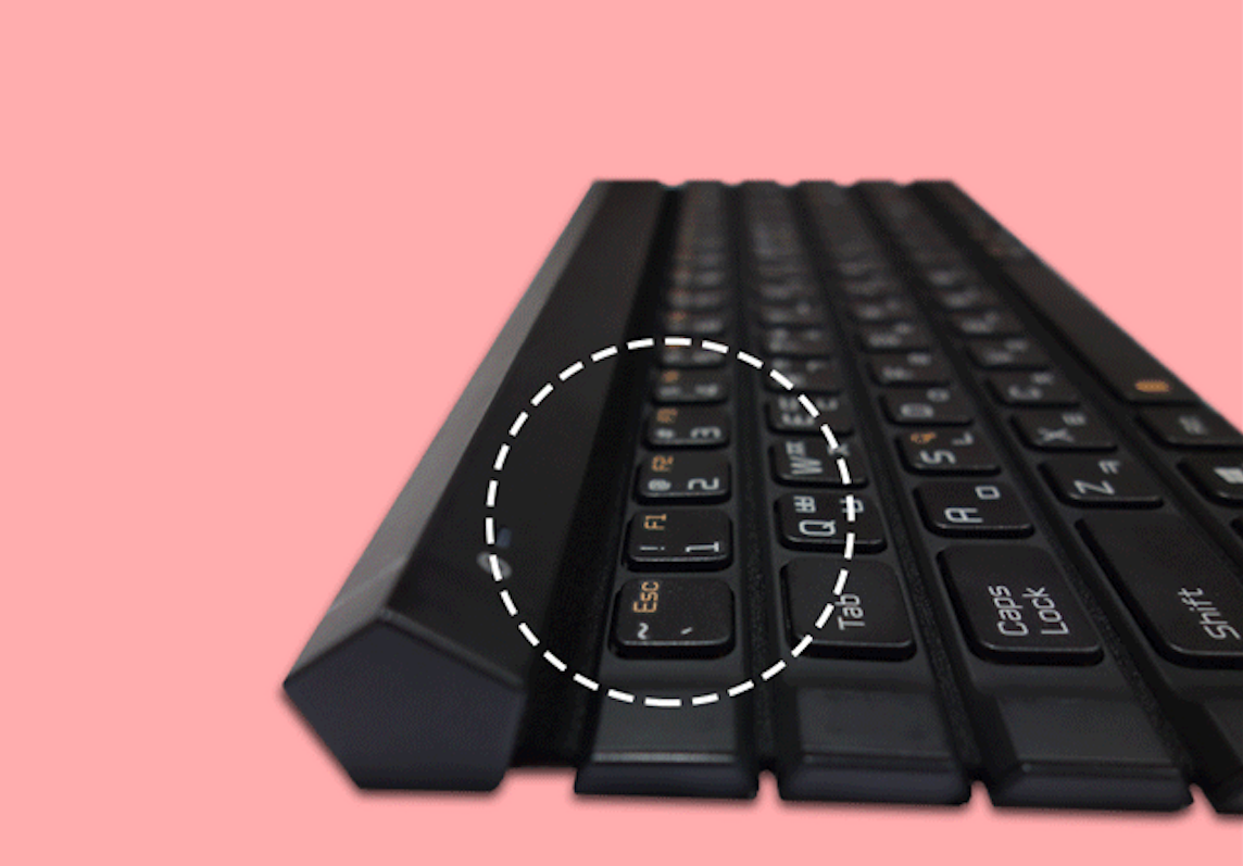 New Lg Rolly Keyboard 2 Has Five Rows Of Keys The Verge