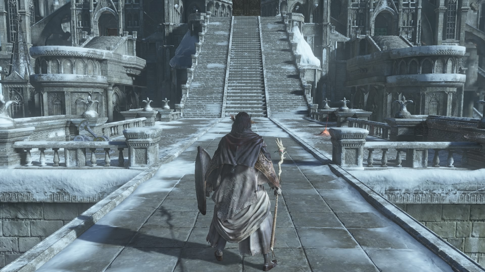 how to return to firelink shrine from anor londo