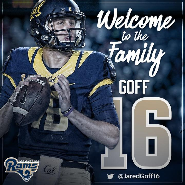 Jared Goff jersey number