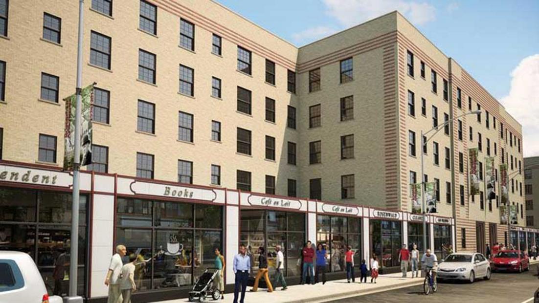Restoration work continues on historic 1929 bronzeville - 2 bedroom apartments in bronzeville chicago ...