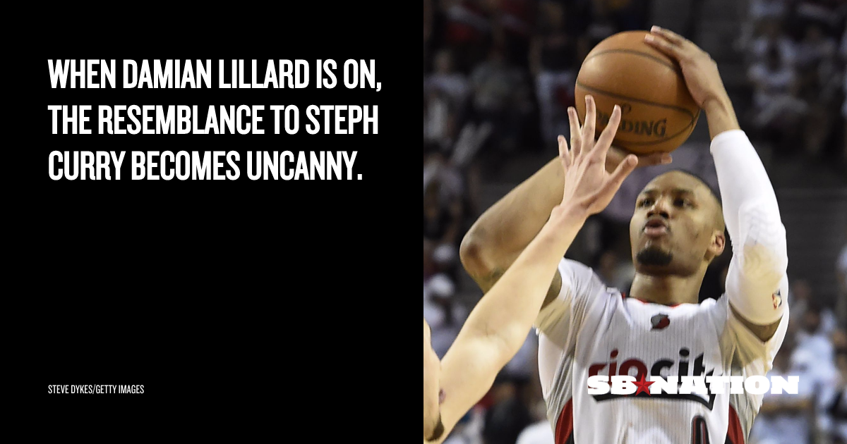 NBA playoff scores 2016: Damian Lillard did a perfect Stephen Curry impression in Game 3